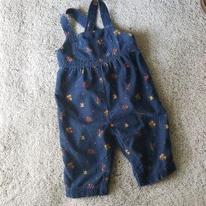 GYMBOREE overalls | girls 6-12 months